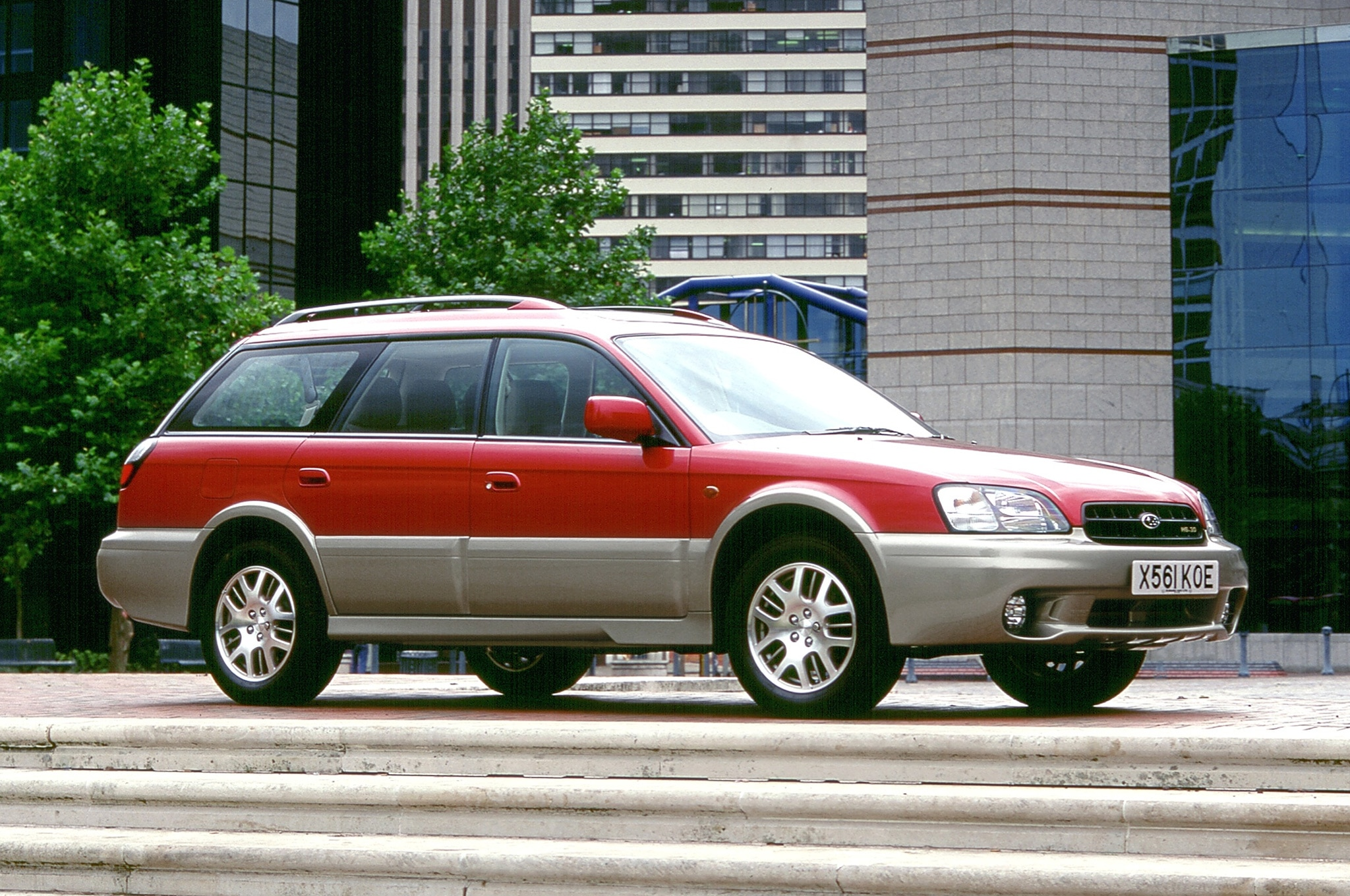 2003 Subaru Outback European Spec Front Side View