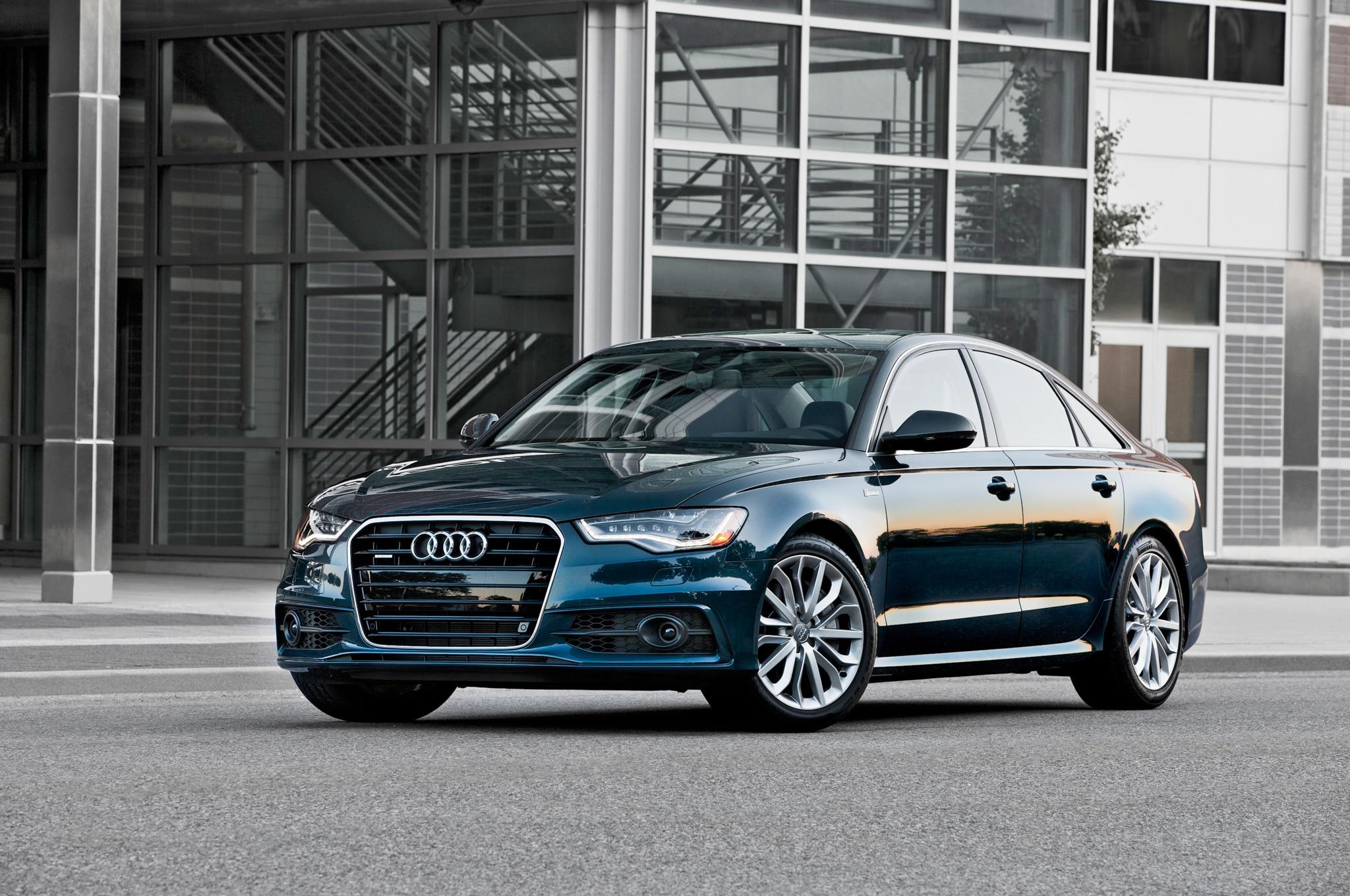 2014 Audi A6 Front Three Quarters1