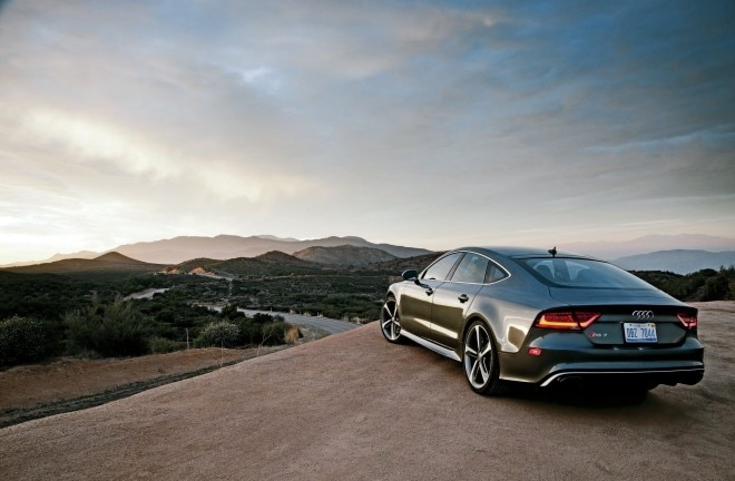 2014 Audi RS 7 Rear Three Quarters 660x432