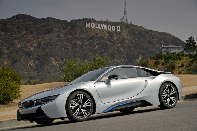 2014 BMW I8 Side Profile 660x440