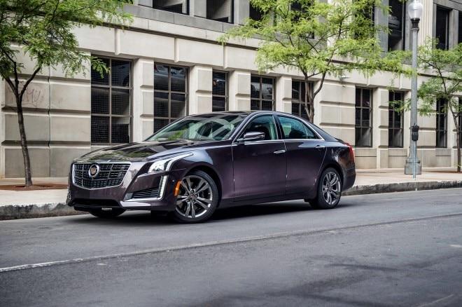 2014 Cadillac Cts Vsport Front Three Quarter 11 660x438