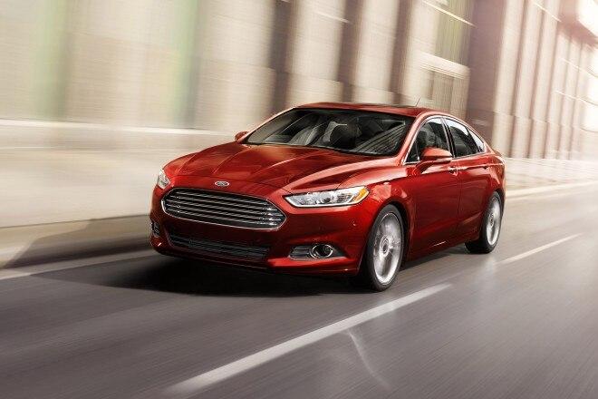 2014 Ford Fusion Three Quarters 21 660x440