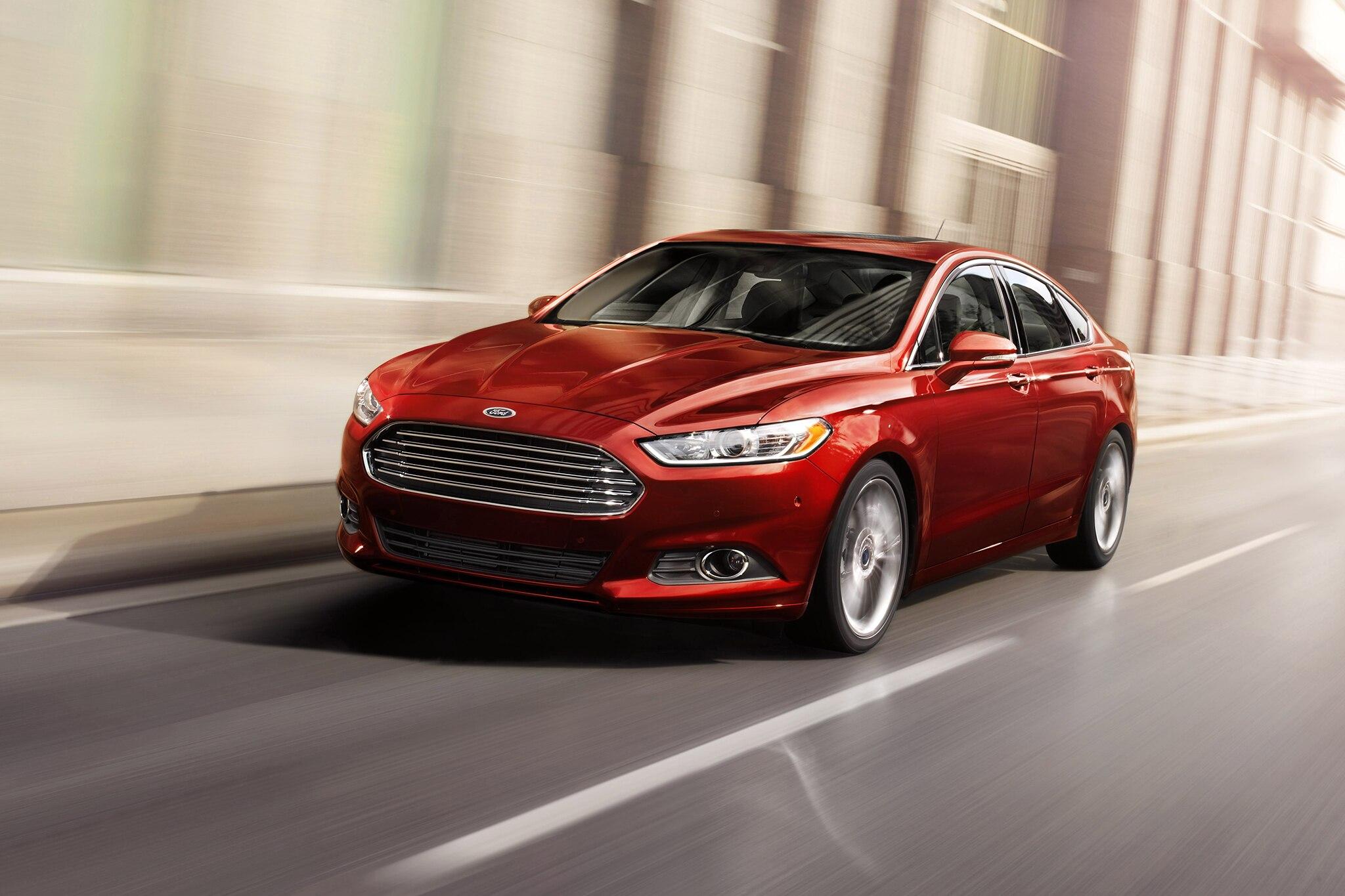 2014 Ford Fusion Three Quarters 22