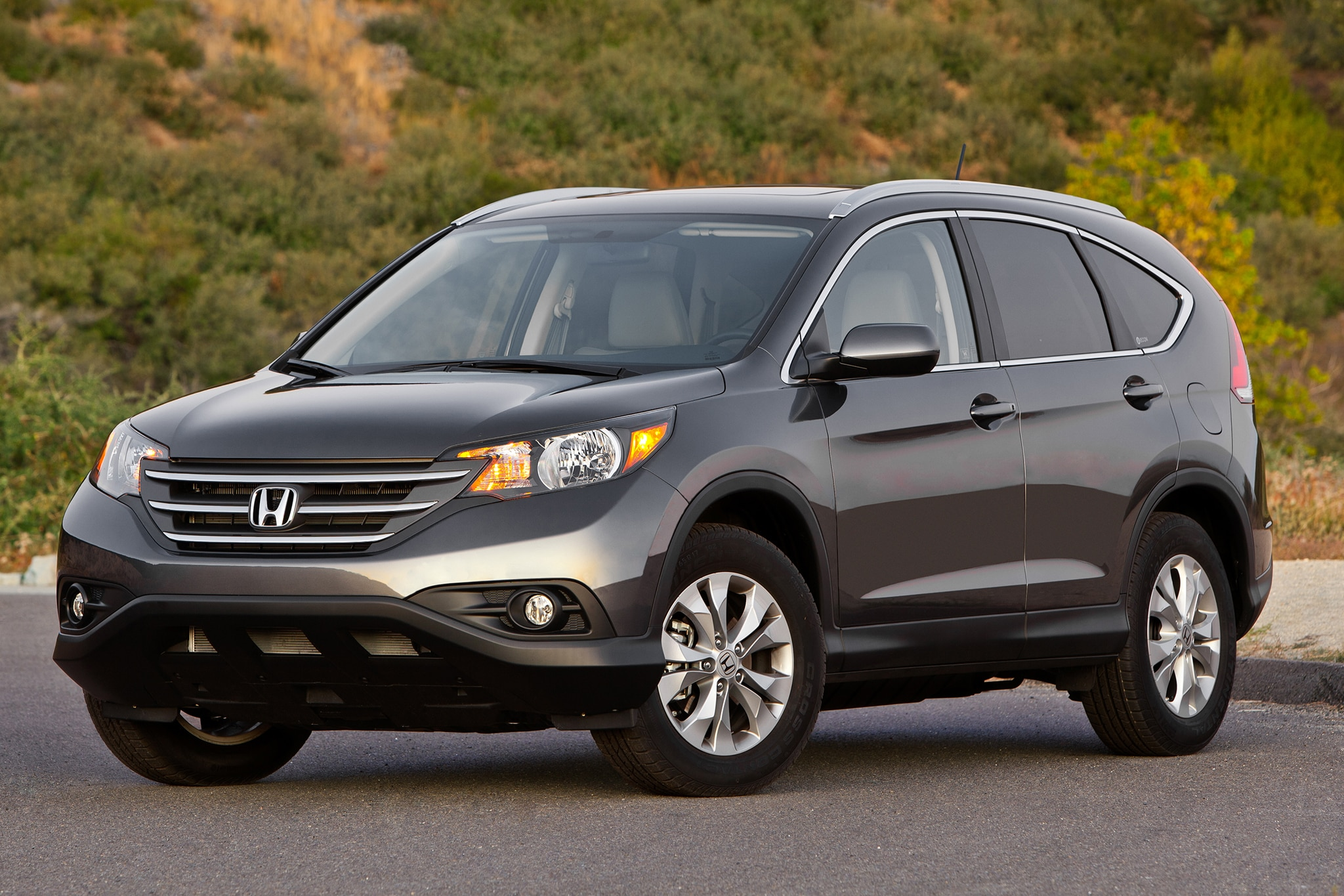 2014 Honda CR V Three Quarters View