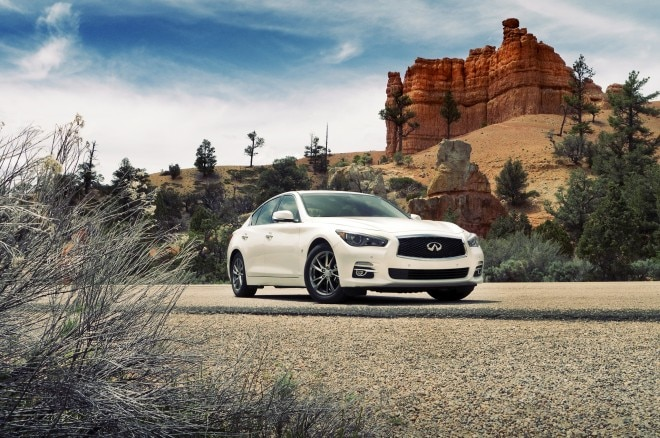 2014 Infiniti Q50 Front Three Quarters1 660x438