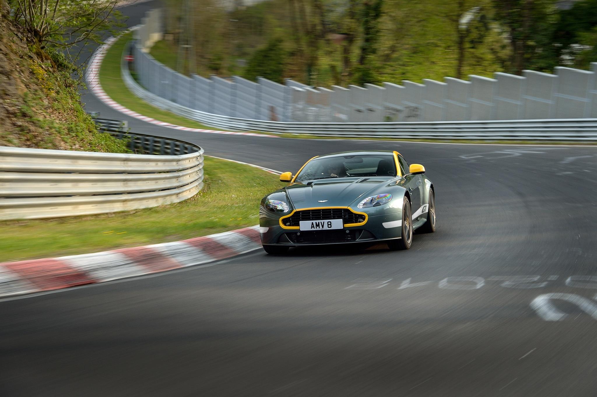 Aston Martin V Vantage GT Review Automobile Magazine - Fast car 361