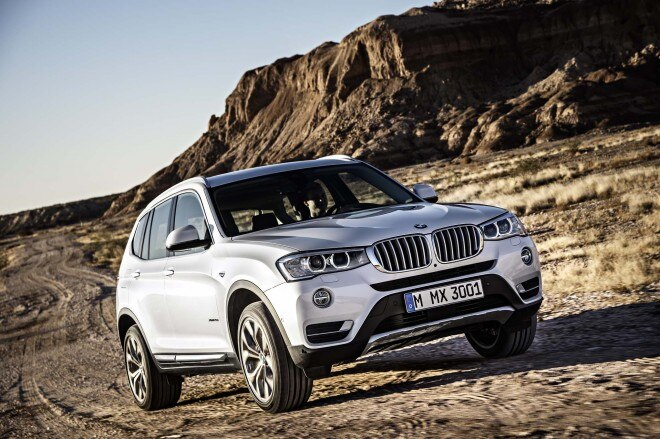 2015 BMW X3 Front Three Quarters In Motion 03 660x439