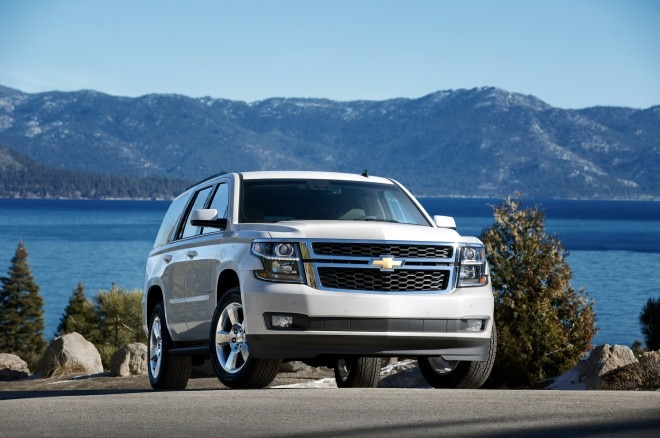 2015 Chevrolet Tahoe Front Three Quarter 660x438