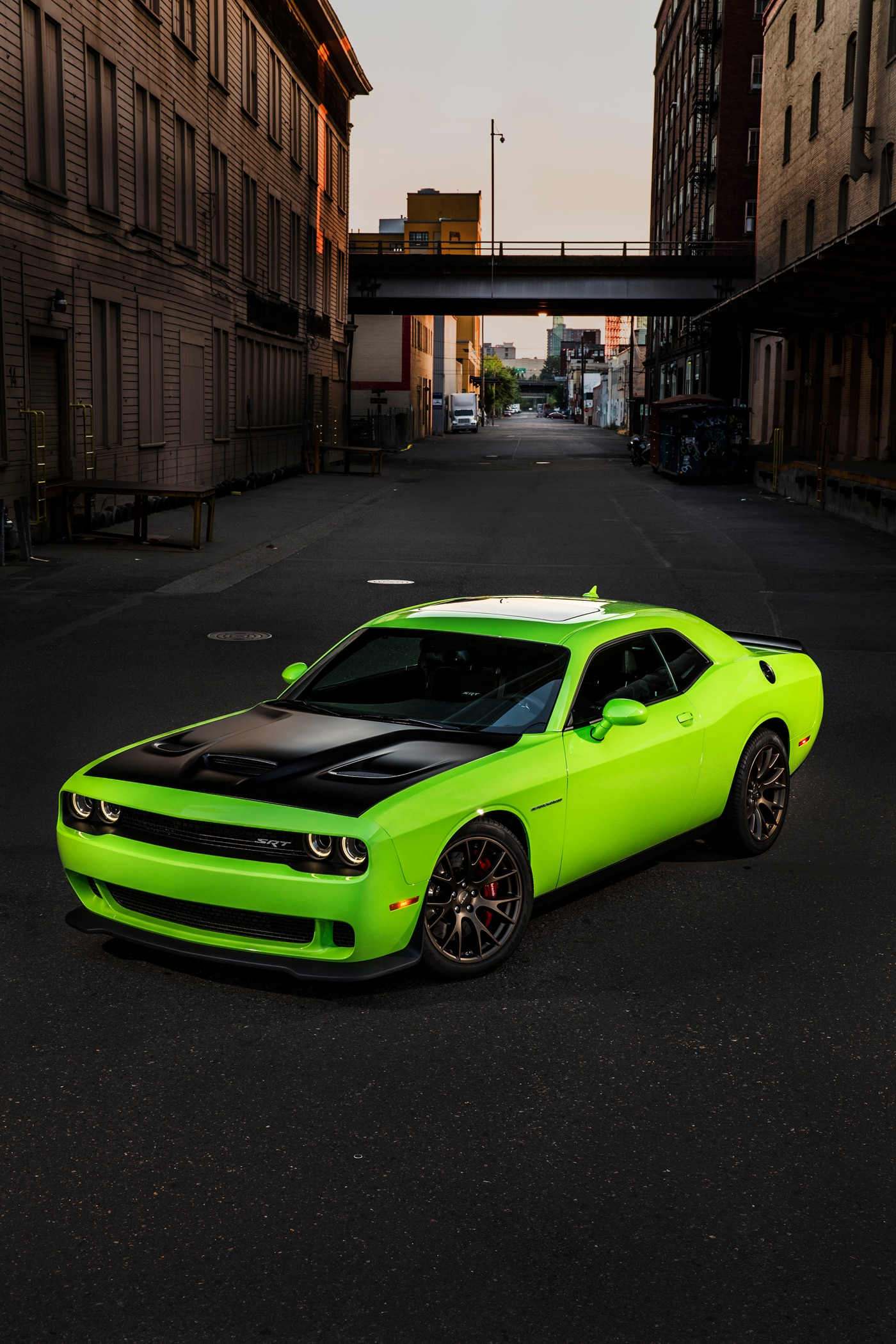 2015 Dodge Challenger Hellcat For Sale >> Driving a 2015 Dodge Challenger Hellcat in a Snowstorm