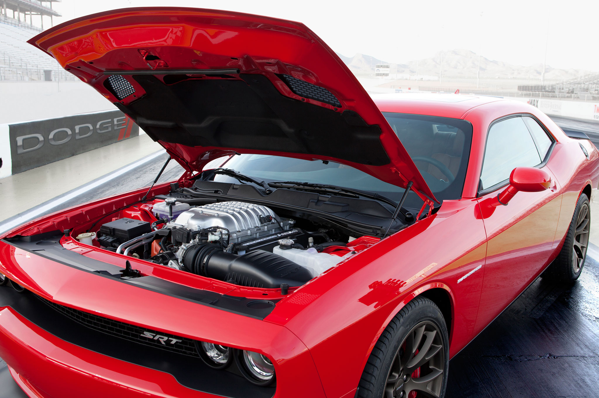2015 Dodge Challenger SRT Hellcat Makes 707 HP