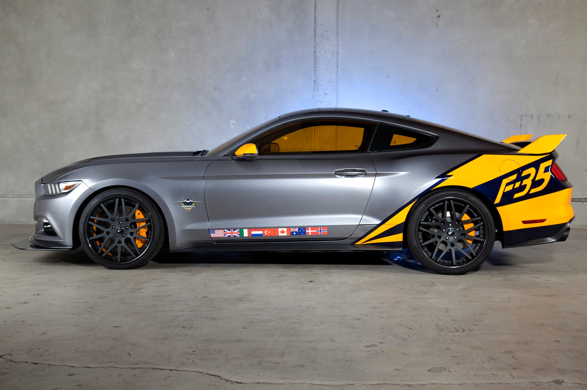 2015 Ford Mustang F 35 Lightning II Edition Side Profile1