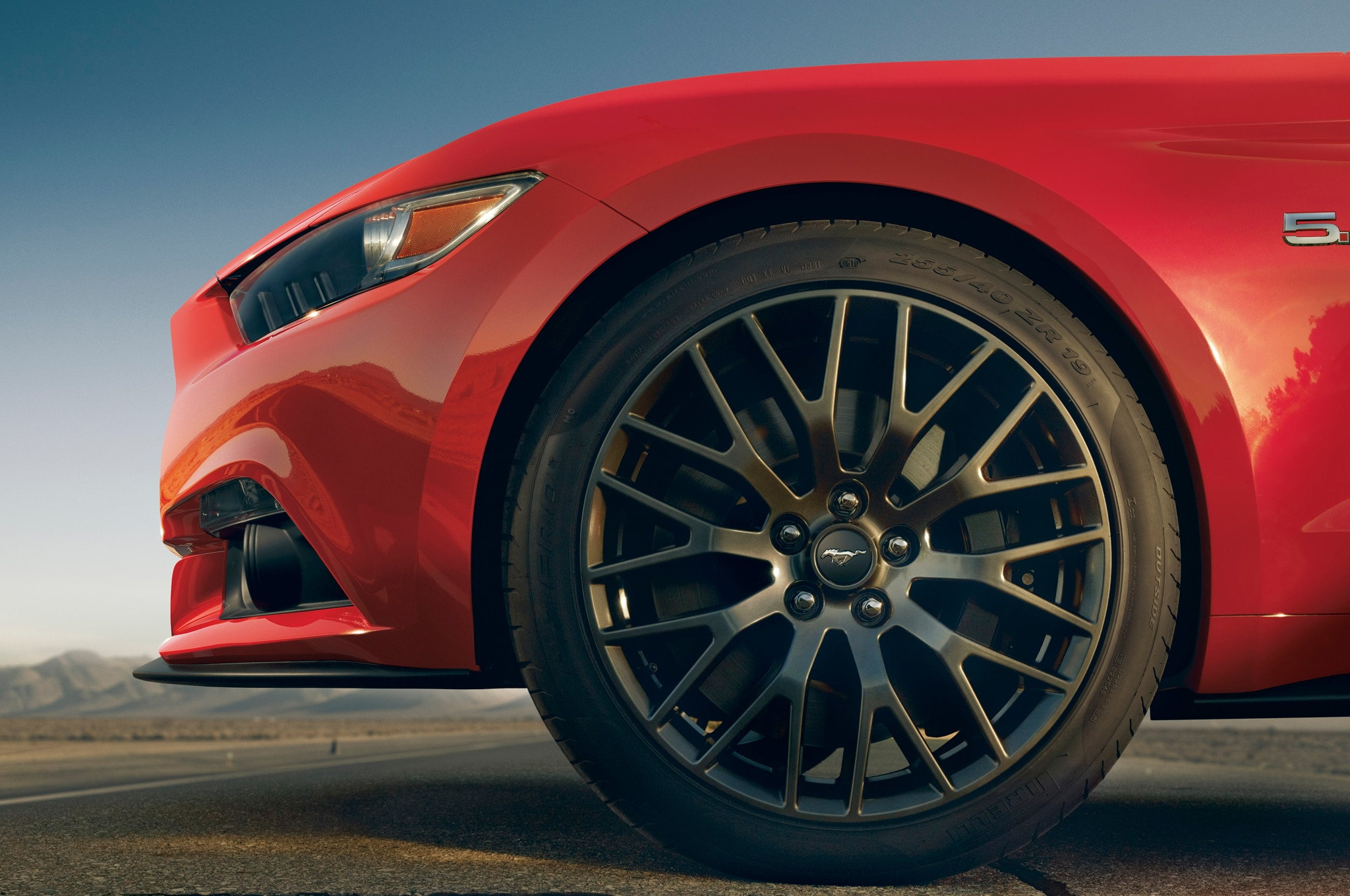 2015 Ford Mustang Front Wheel1