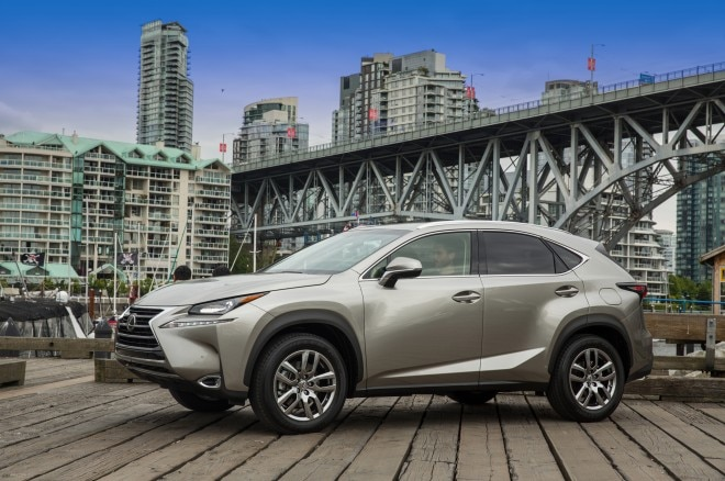 2015 Lexus NX 200t Front Three Quarter 660x438