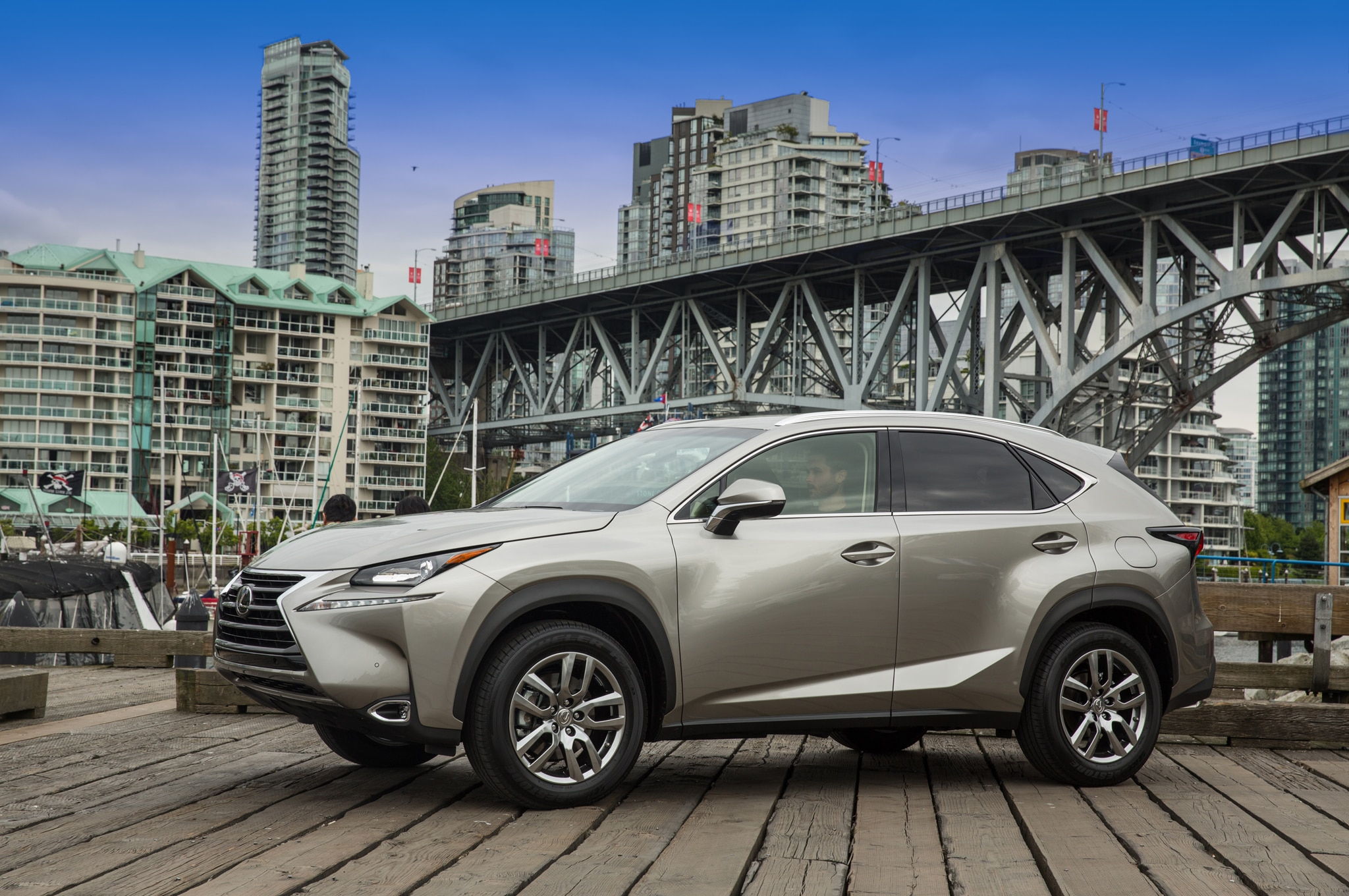 2015 Lexus NX 200t Front Three Quarter