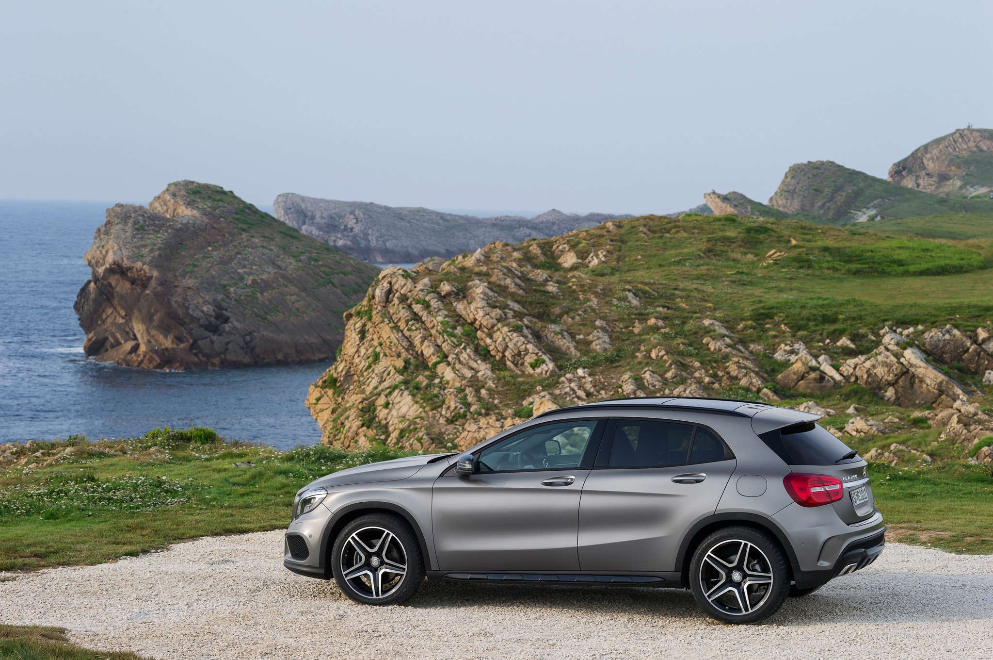 2015 mercedes benz gla class starts at 32 225 gla45 amg for Mercedes benz gla crossover