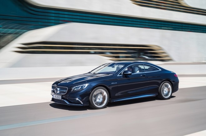 2015 Mercedes Benz S65 AMG Coupe Front Three Quarter In Motion 03 660x438