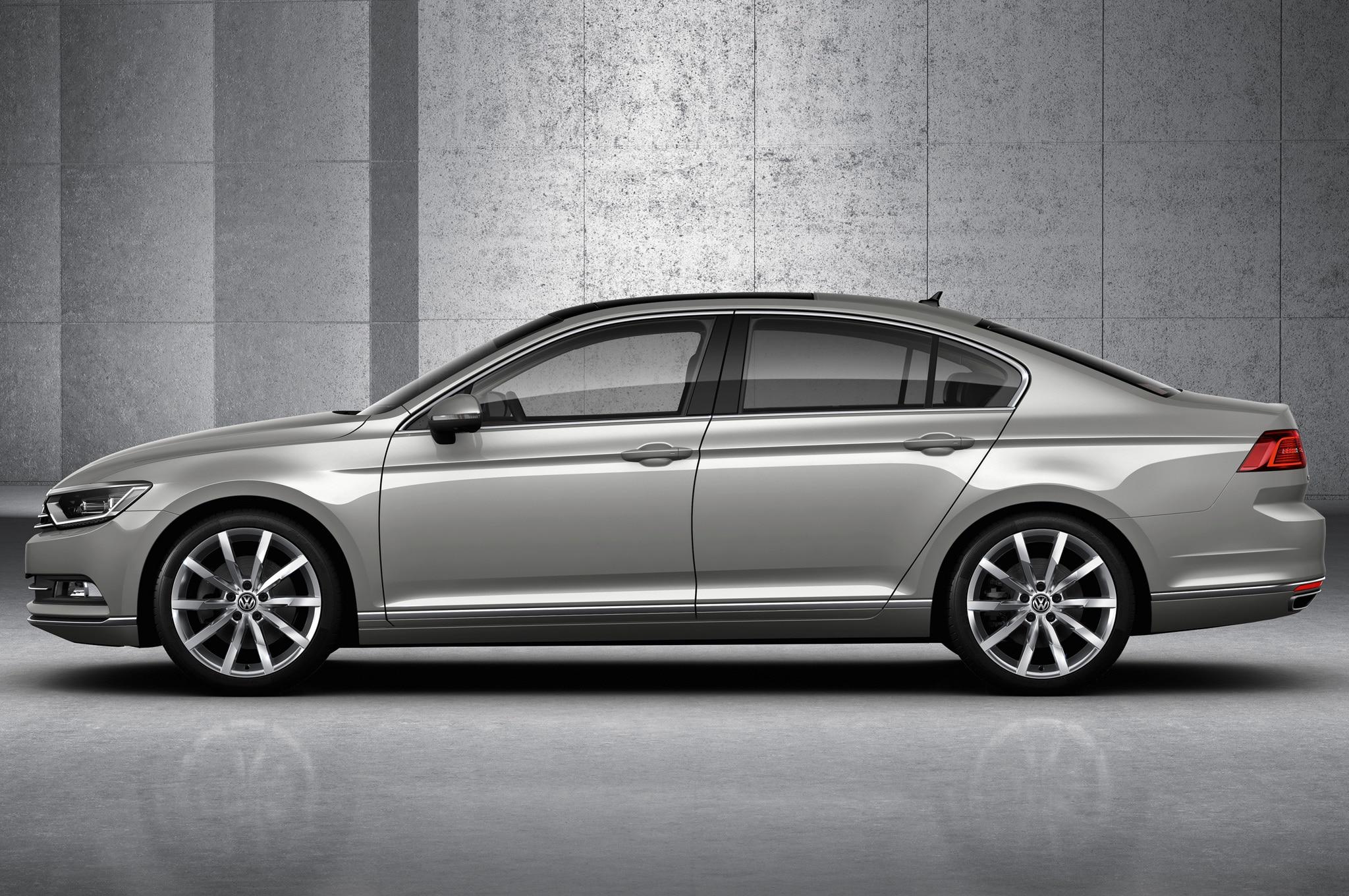 European 2015 Volkswagen Passat Debuts