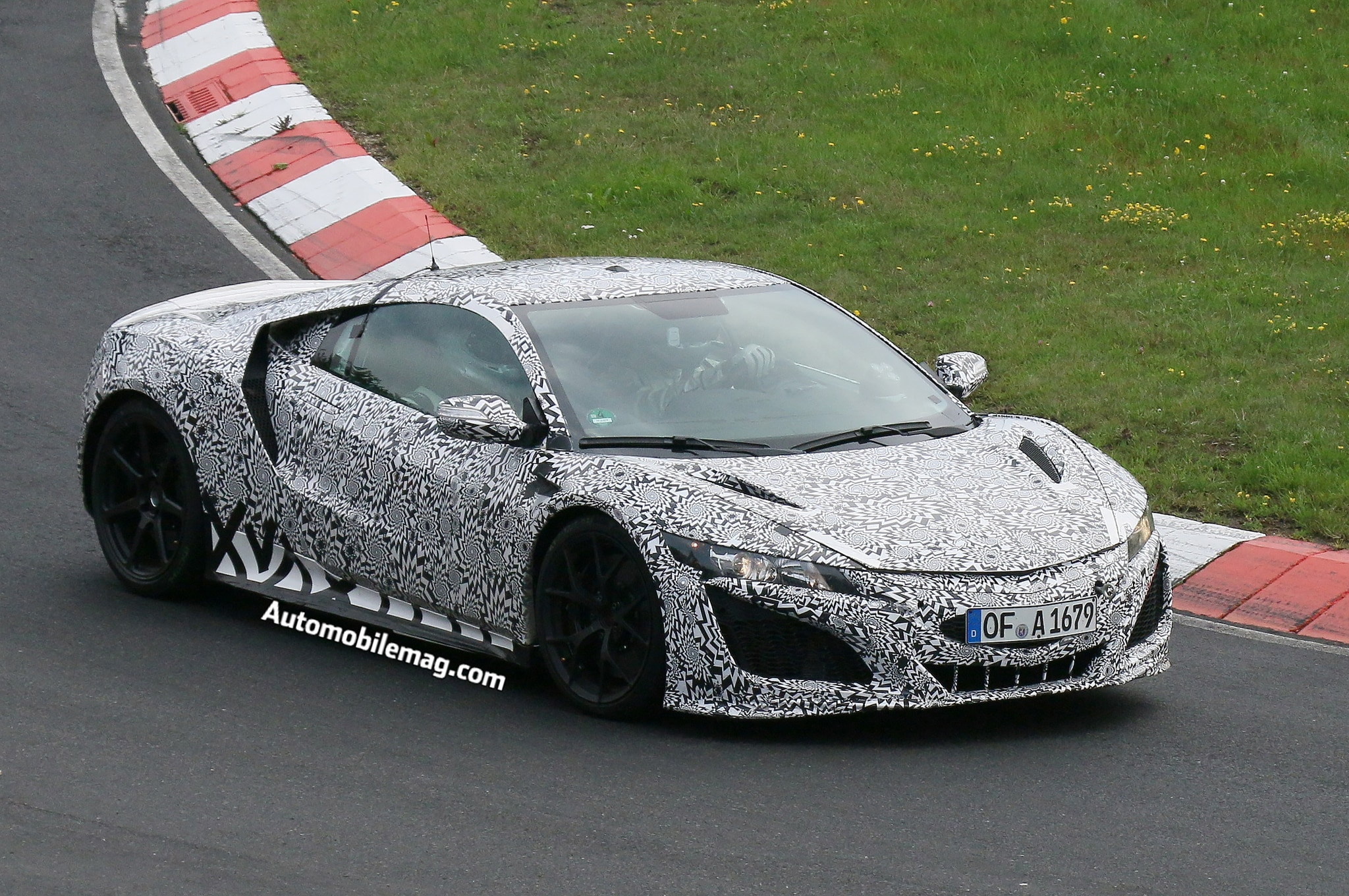 2015 Acura Nsx Prototype Spied 3 Three Quarter1