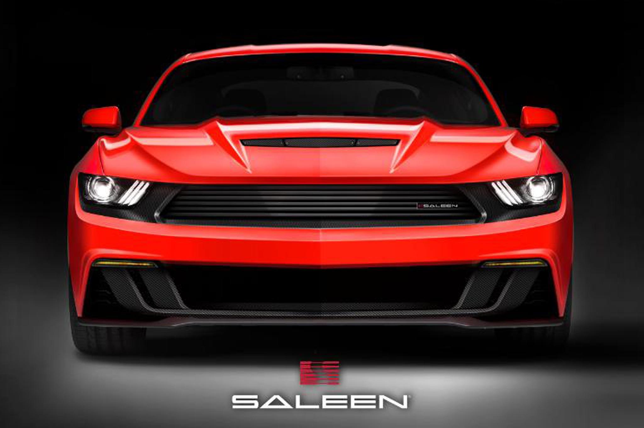 2015 Ford Mustang Saleen 302 Teaser