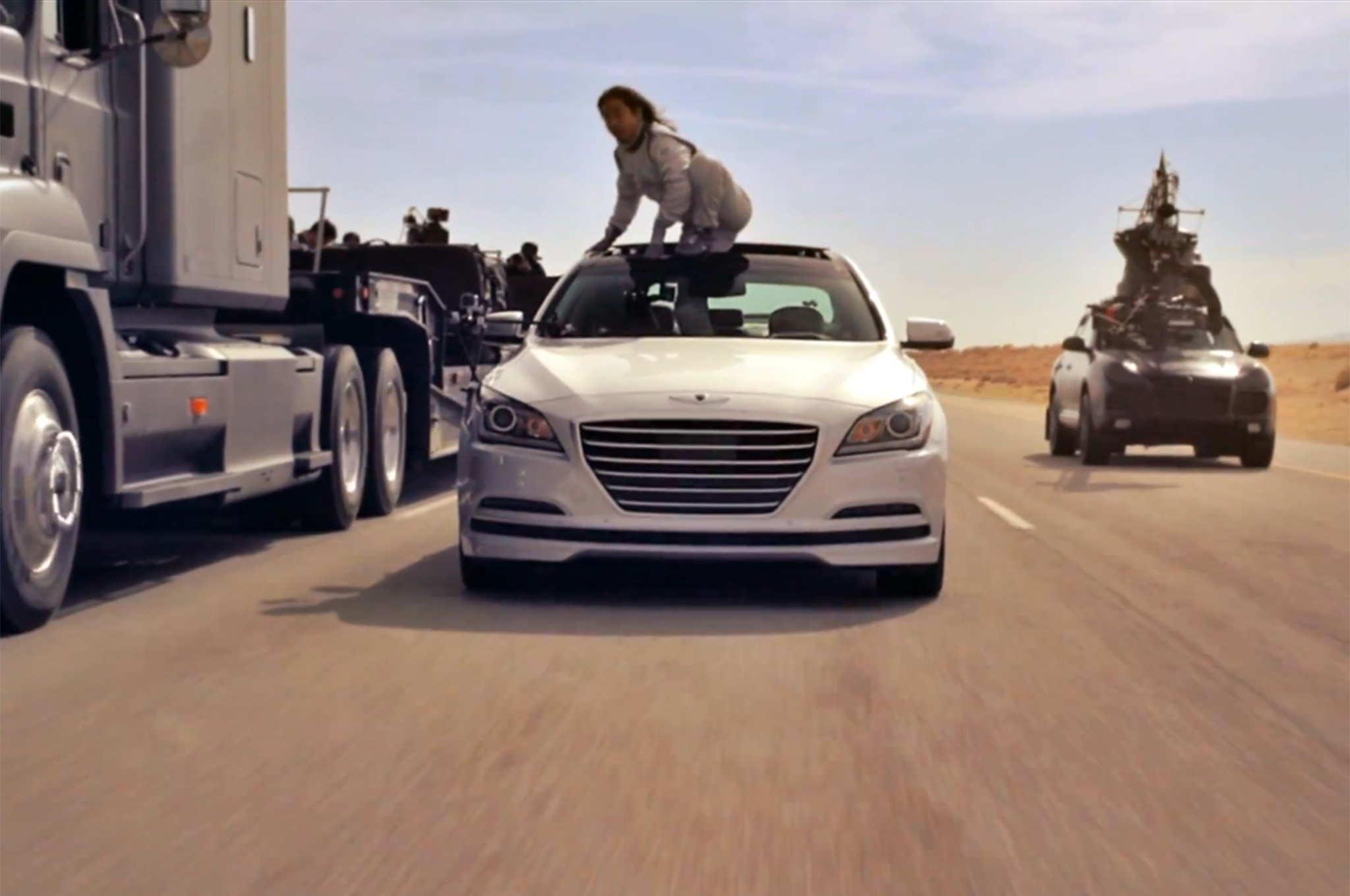 2015 Hyundai Genesis Empty Car Video 31