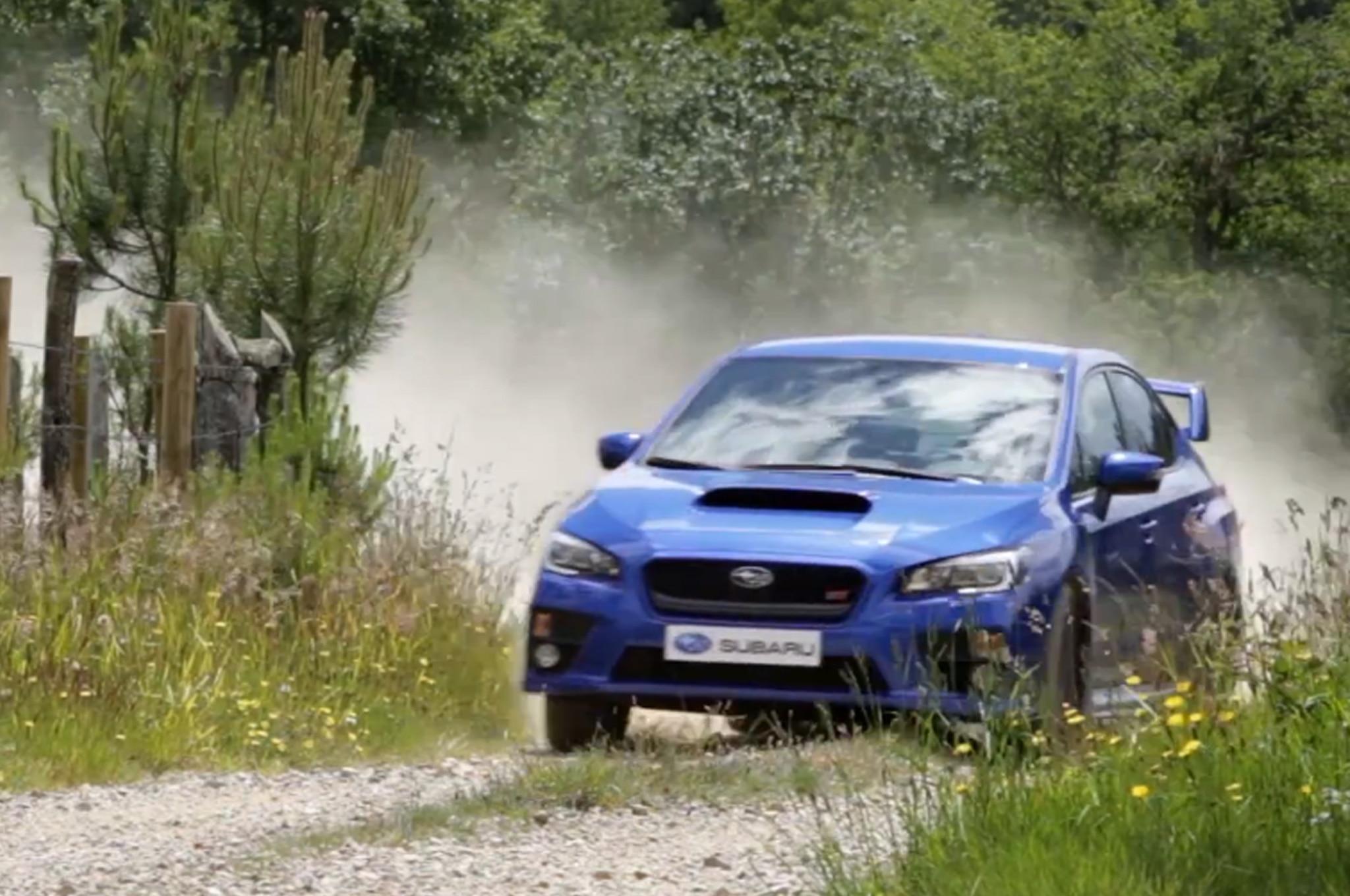 2015 Subaru Wrx Sti Gymkhana Spanish Ad