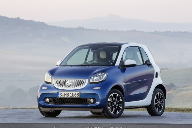 2016 Smart ForTwo Front Three Quarters 032 660x440