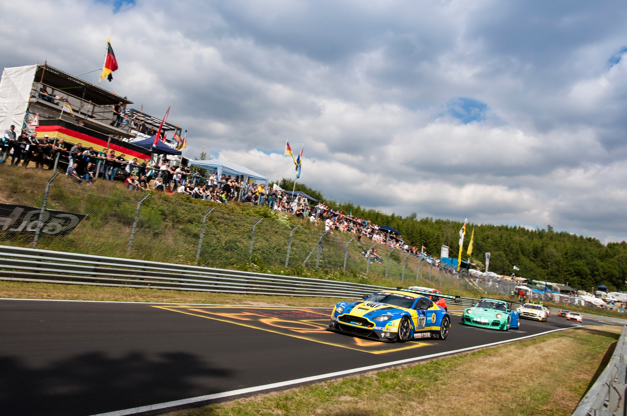 Aston Martin At 2014 Nurburgring 24 Hours Tracks