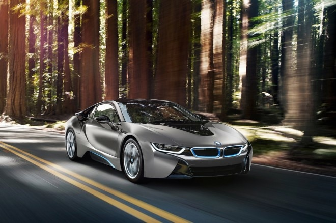 BMW I8 Concours D Elegance Edition Front Three Quarter In Motion1 660x438