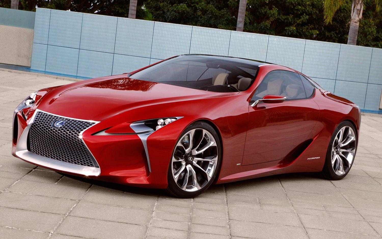 Lexus LF LC Concept Front Three Quarter1
