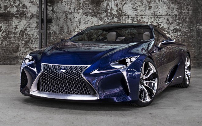 Lexus LF LC Front Left Side1 660x413