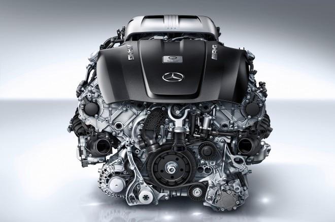 Mercedes Benz AMG M178 Engine 041 660x438