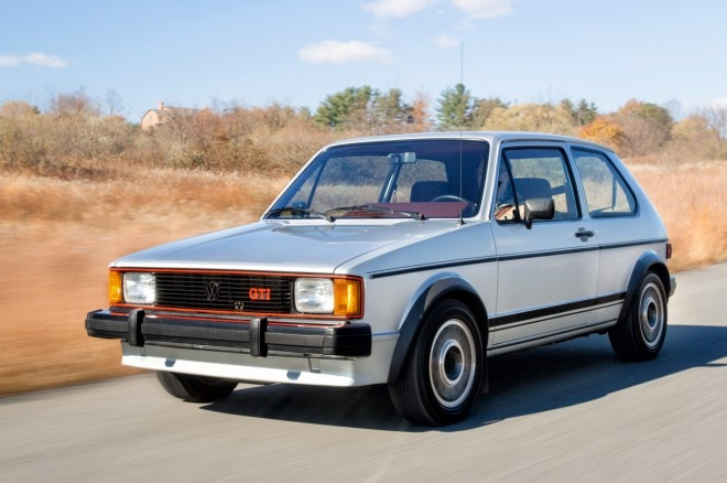 Volkswagen GTI MK1 Front Three Quarters In Motion1 660x438