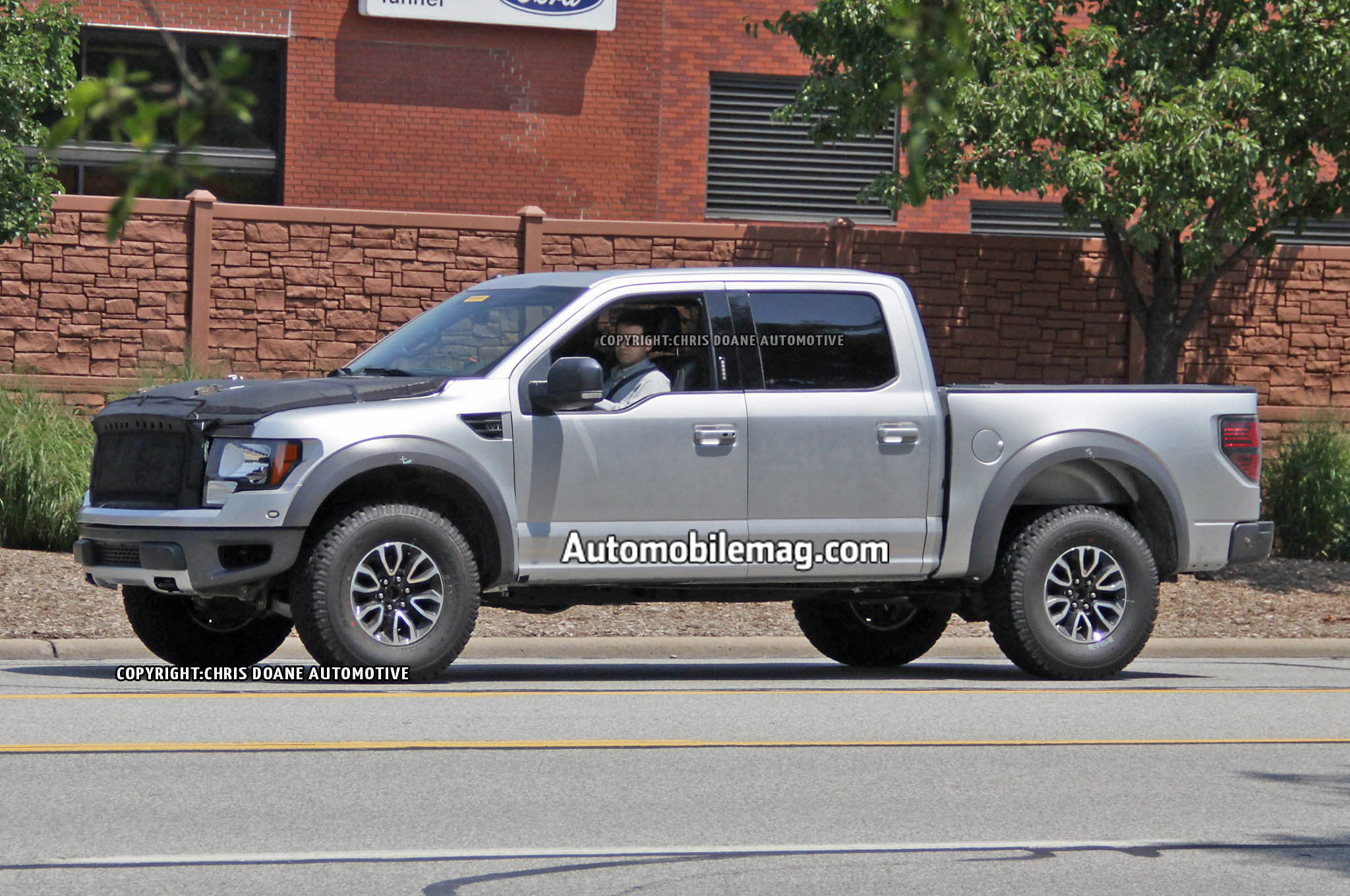 Ford F 150 Raptor Prototype Spied Front Three Quarter 5