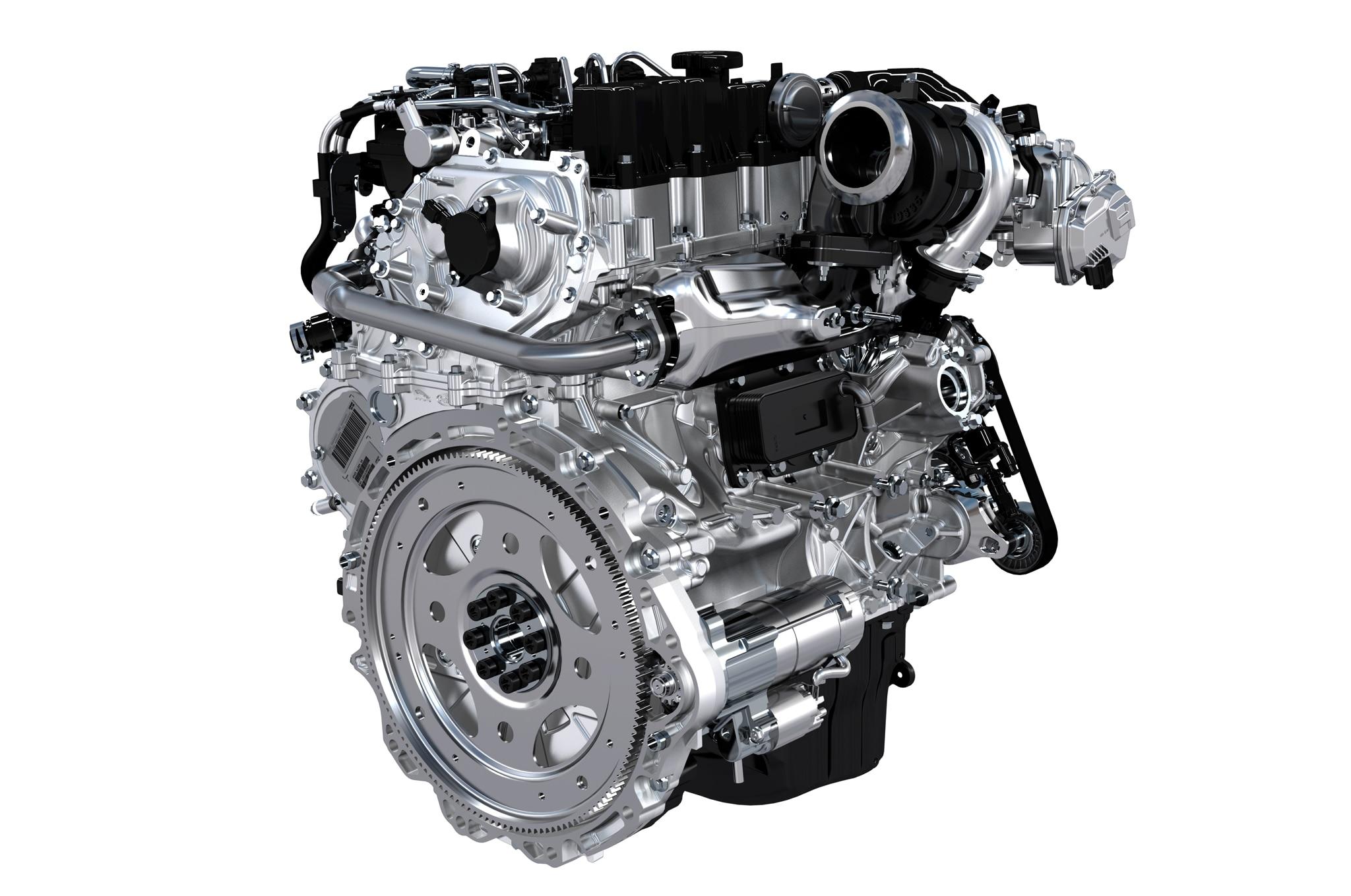 Jaguar Xe Ingenium Engine 21