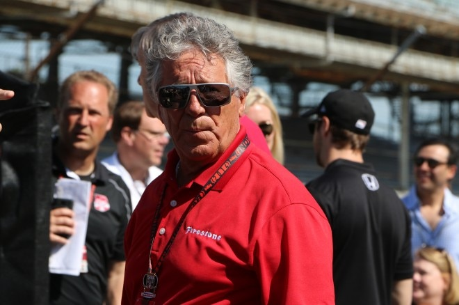 Mario Andretti At Indy 500 660x438