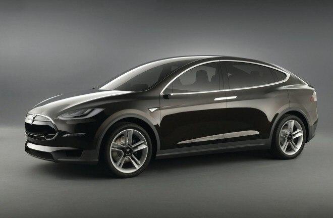 Tesla Model X Concept Front Three Quarter 660x432