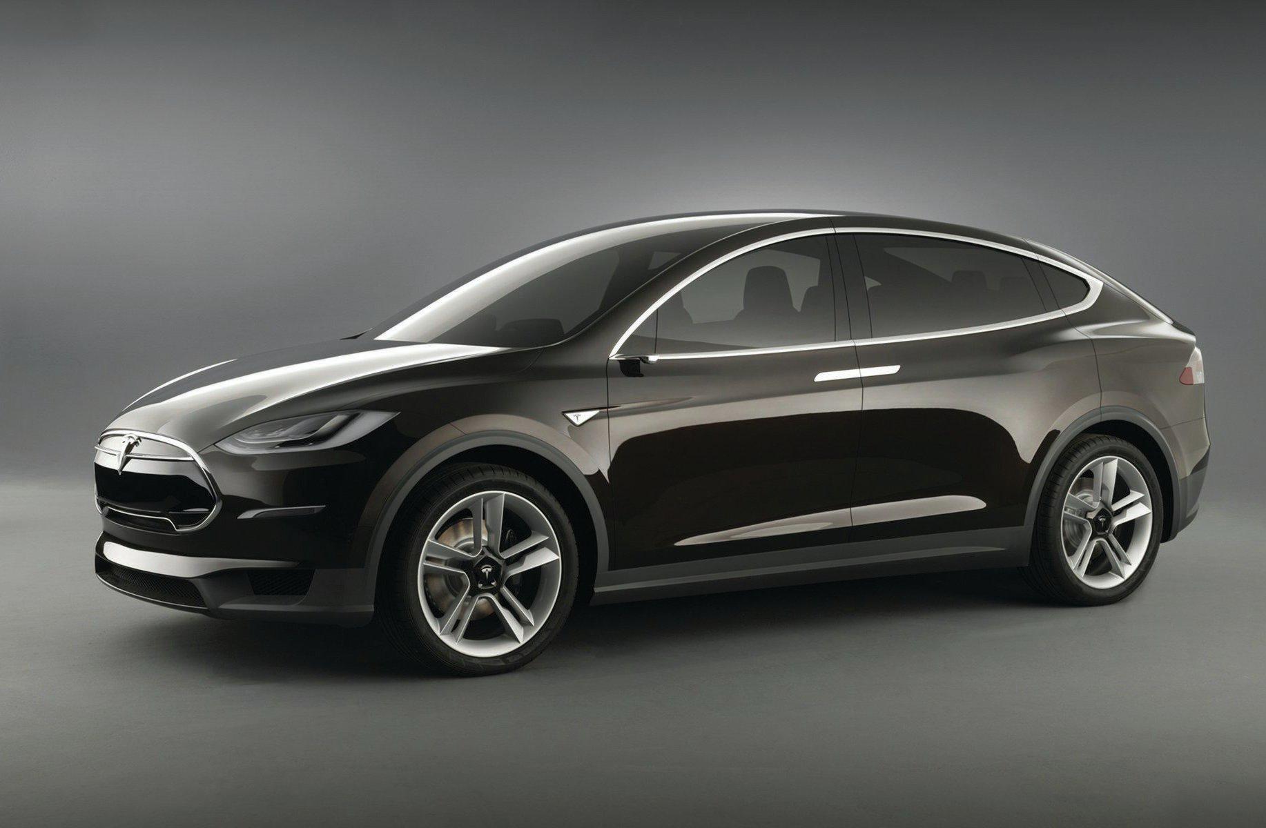 Tesla Model X Concept Front Three Quarter