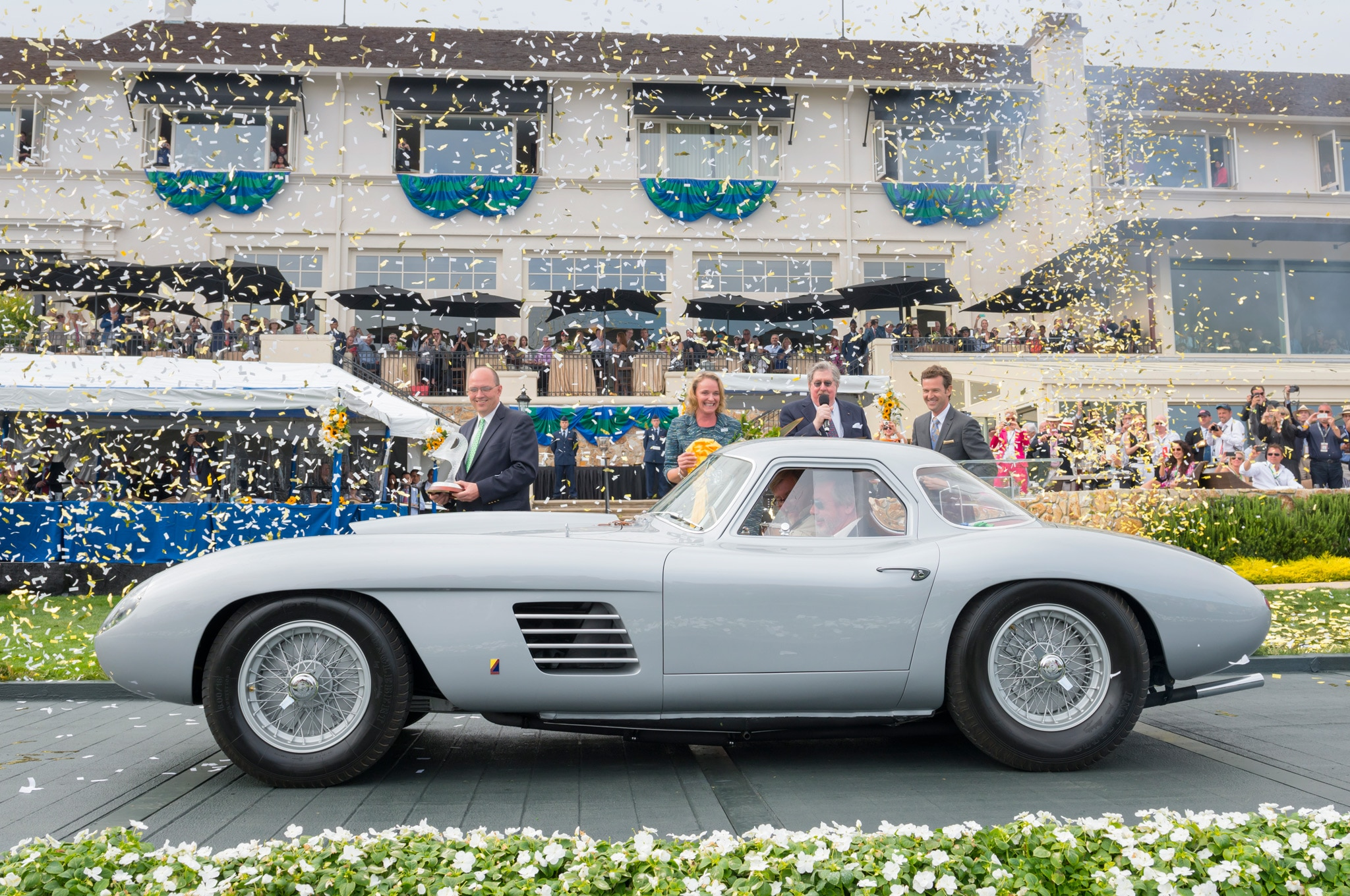 1954 Ferrari 375 MM At Pebble Beach 2014