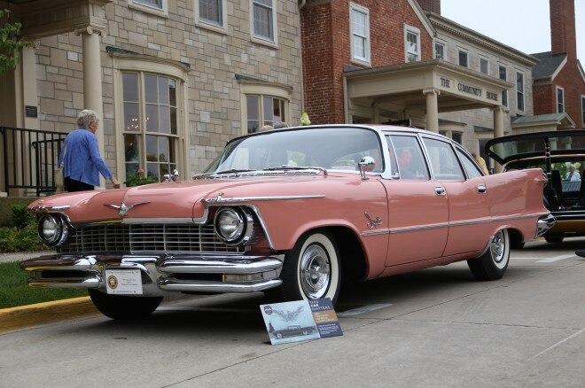 1957 Chrysler Imperial Crown Sedan Front Three Quarter