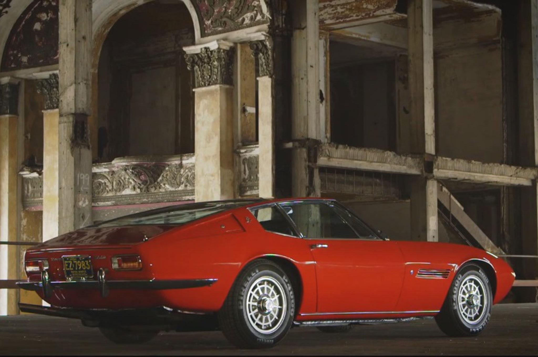 1967 Maserati Ghibli Rear Three Quarter