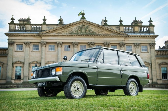 1970 Range Rover Chassis Number 1 Front Three Quarter1 660x438