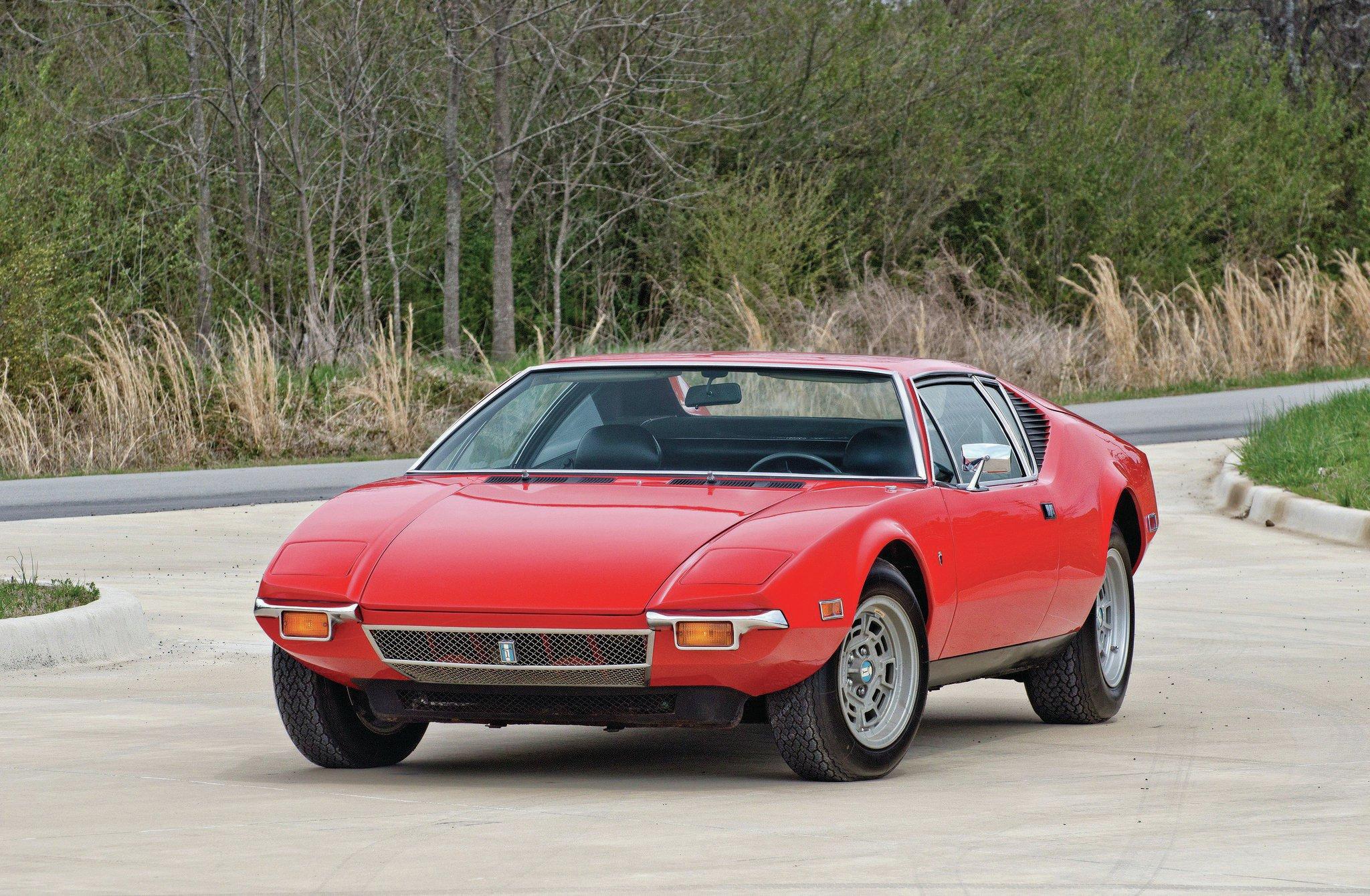 1972 De Tomaso Pantera Promo