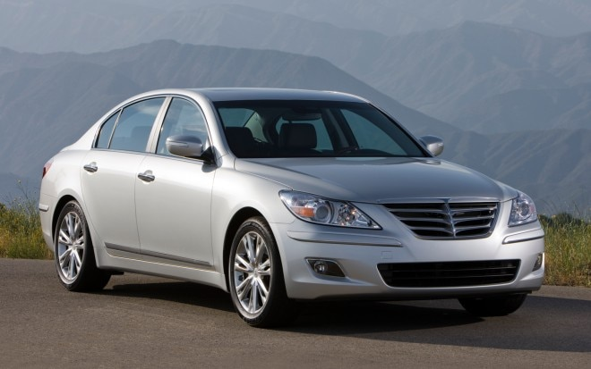 2011 Hyundai Genesis Front Three Quarter 660x413