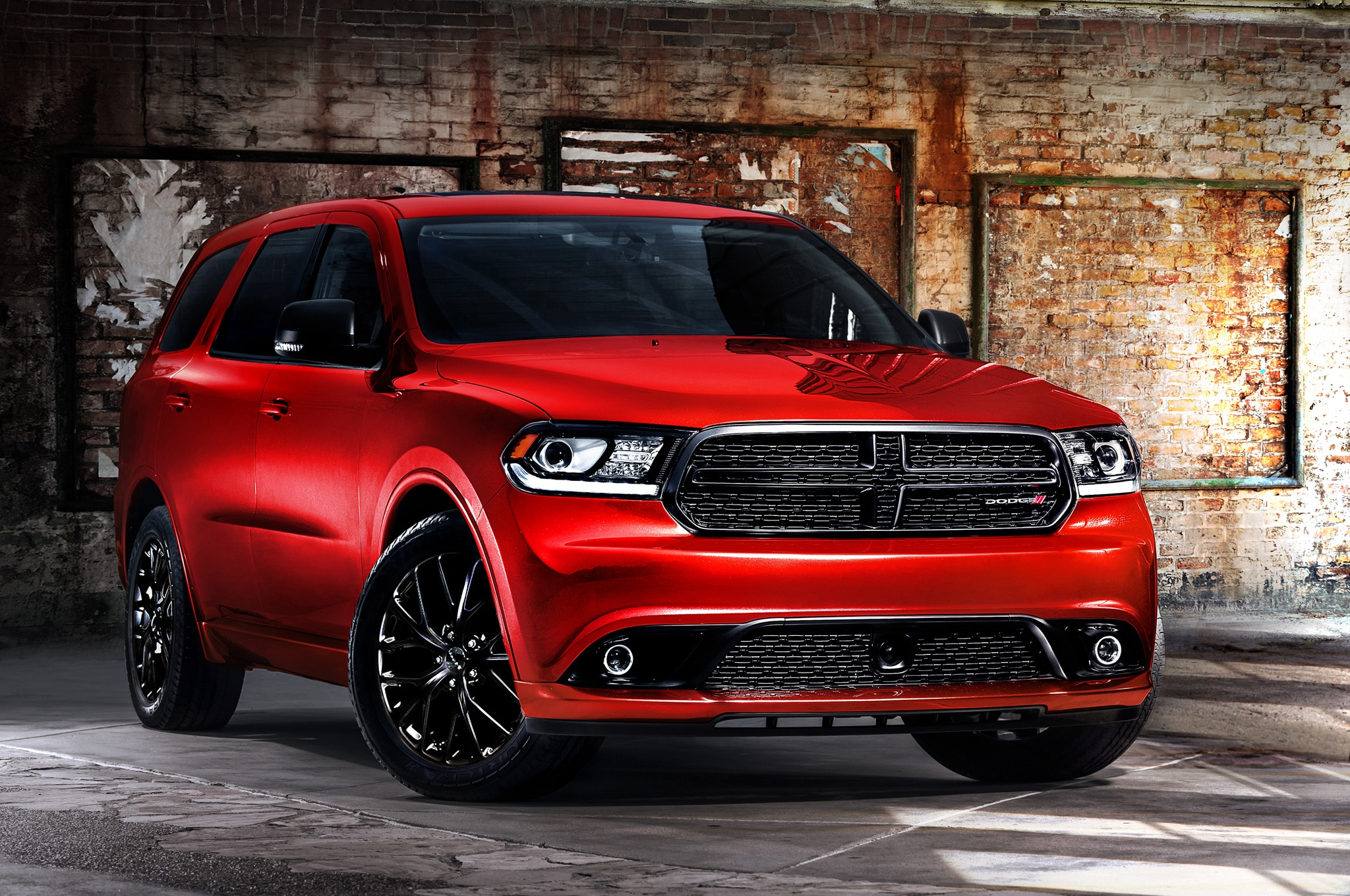 2014 Dodge Durango RT Blacktop Front Three Quarters