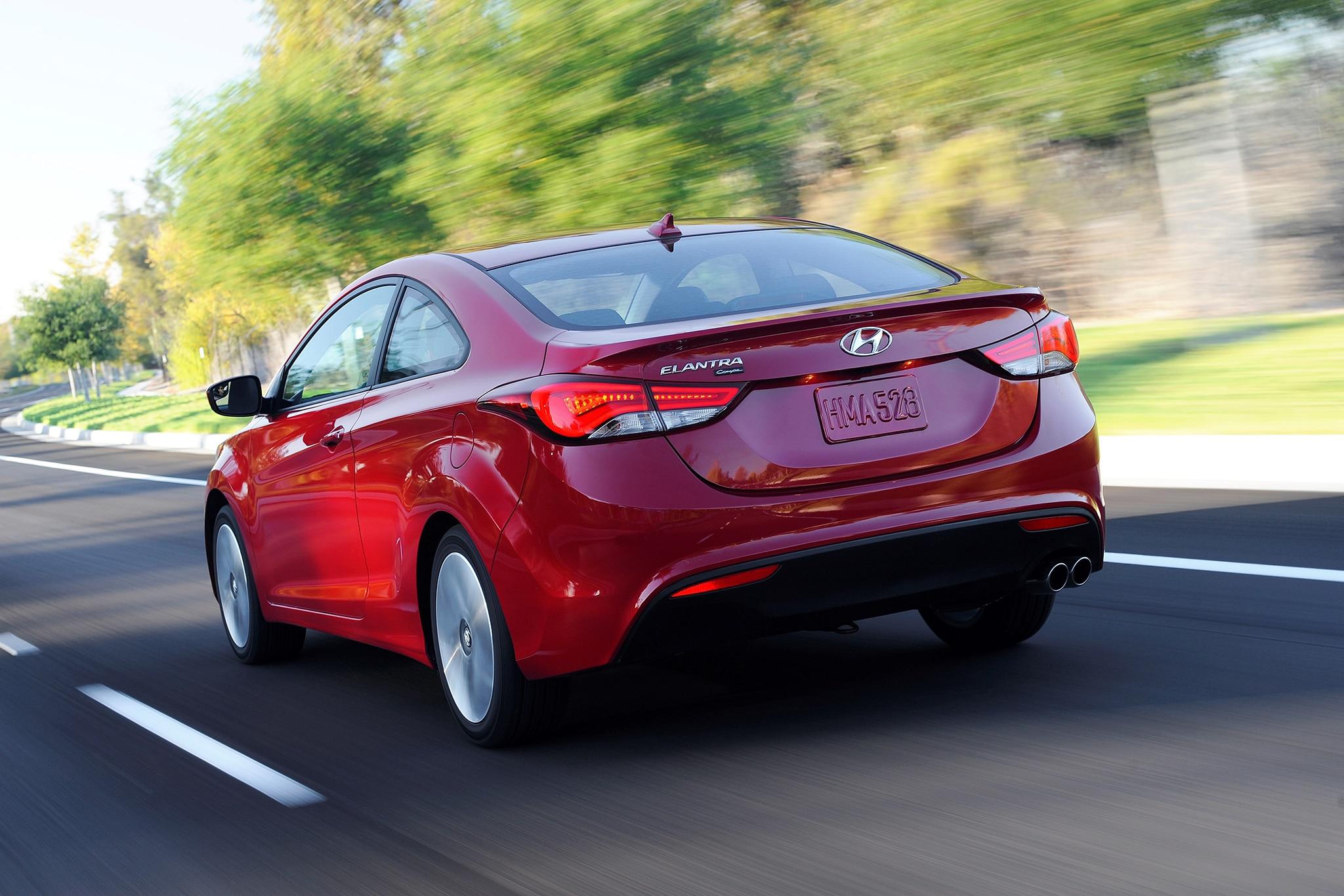 Hyundai Elantra Coupe Discontinued for 2015