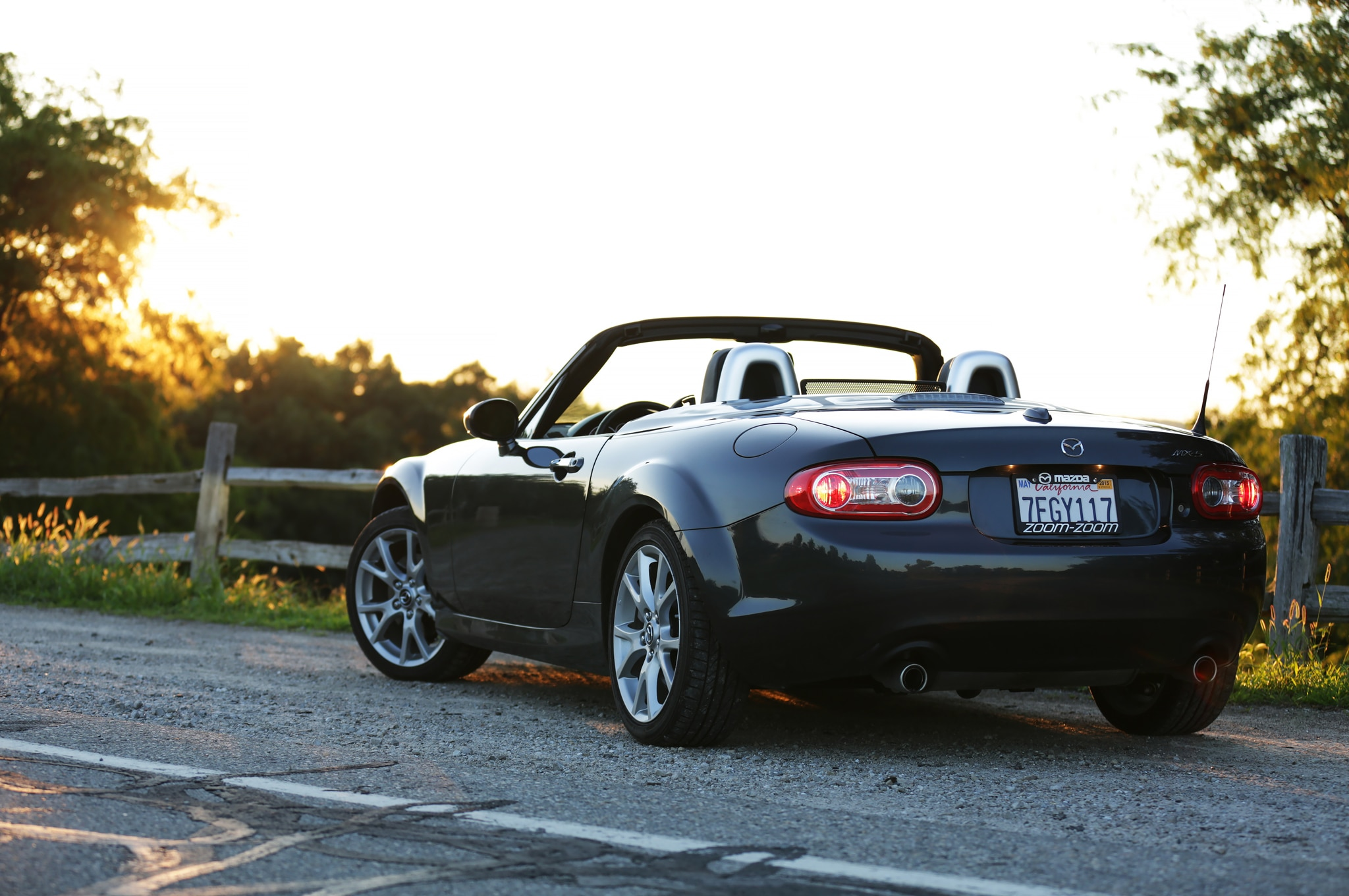 2014 Mazda MX 5 Miata Grand Touring PRHT rear end 03 2014 mazda mx 5 miata grand touring prht introduction 2008 Mazda Miata Trim Packages at suagrazia.org