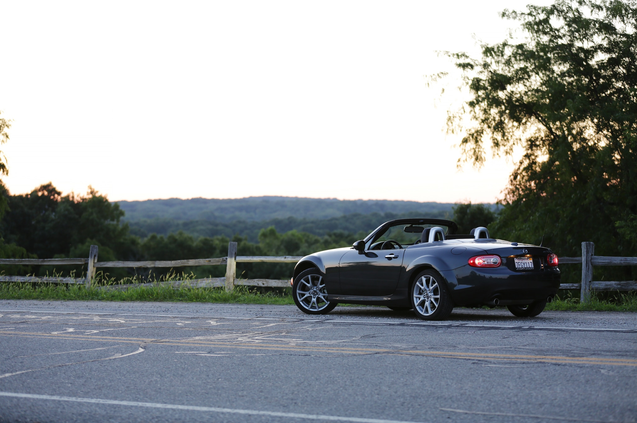 2014 Mazda MX 5 Miata Grand Touring PRHT rear three quarters 03 2014 mazda mx 5 miata grand touring prht introduction 2008 Mazda Miata Trim Packages at suagrazia.org