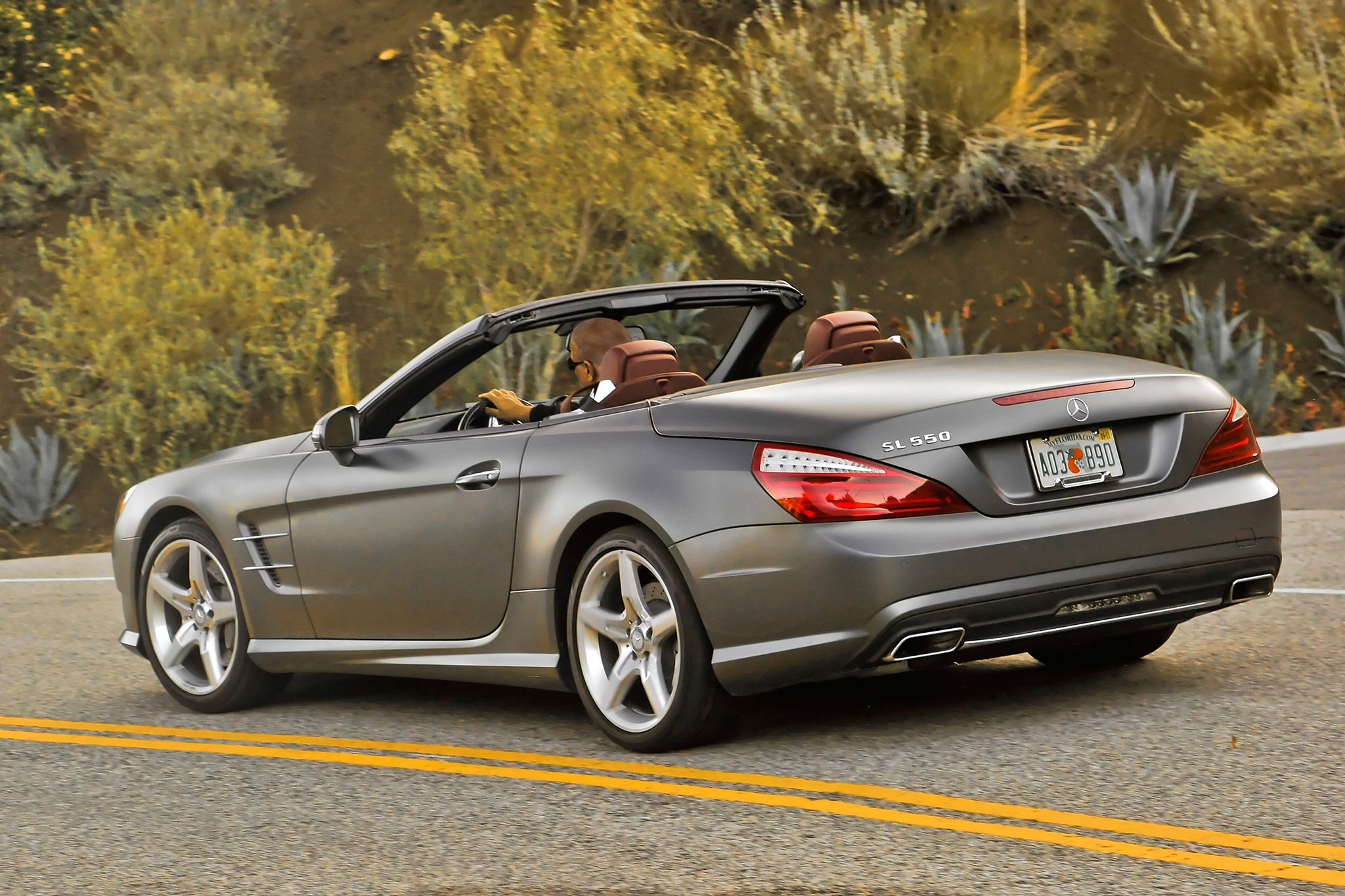 2015 mercedes benz sl400 receives new turbocharged v 6 for Mercedes benz hardtop convertible 2014