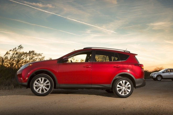 2014 Toyota RAV4 Limited Side View 660x438