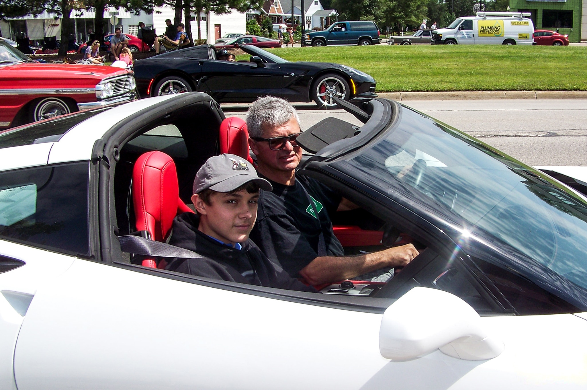 2014 Chevrolet Corvette Motor City Blogman Woodward Dream Cruise Todd Lassa 11